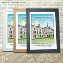 Pembroke College, University Of Oxford Print