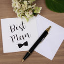 Best Man Wedding Card