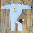 Little Lady / Little Man Babygrow