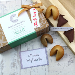 Six Reasons Why I Love You Fortune Cookies - date-night dinner ideas