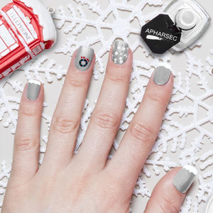 Mademoiselle Nail Art Stamp - cool nails