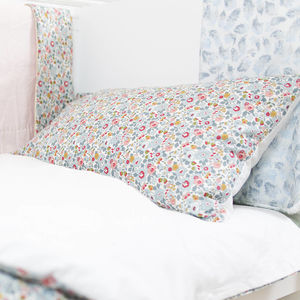 Liberty Print Pillowcase In Betsy - bed linen