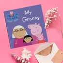 Peppa Pig: My Granny Personalised Book