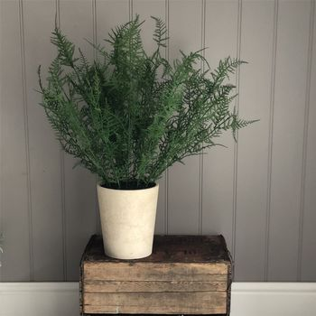 Artificial Fern Potted Plant