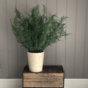 Artificial Fern Potted Plant - artificial plants