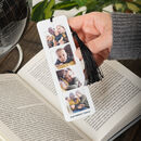 Personalised Photo Booth Metal Book Mark