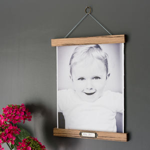 A4 Photo Canvas Picture Hanger