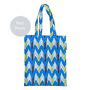 Ikat River Patterned Tote