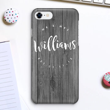 Personalised Couples Name Phone Case