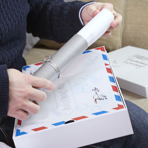 Dad To Be Gift Set, Stork Mail 'From Mummy's Tummy' - gift sets