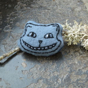 Cheshire Cat Organic Catnip Toy - cat toys