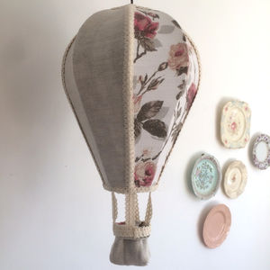 Vintage Balloon Pendant Lampshade - lighting