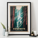 Yosemite National Park Travel Print