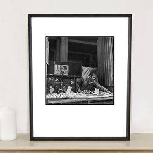 Fruit And Veg Seller Photographic Art Print