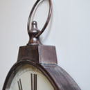 Antique Brass Pocket Watch Wall Clock