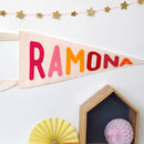 Personalised Pennant Banner