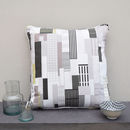 New York City East 44th Handmade Cushion