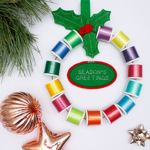 Christmas Wreath - creative kits & experiences