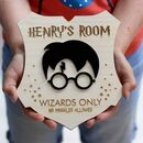 Harry Potter Themed Bedroom Door Sign