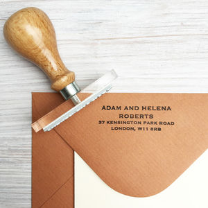 Address Stamp - weddings sale