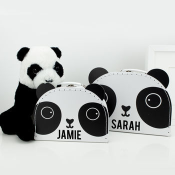 Personalised Panda Bear Storage Boxes