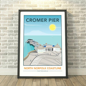 Cromer Pier, North Norfolk Print