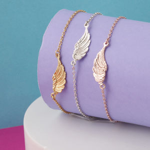 Angel Wing Feather Bracelet