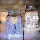 PURPLE LED MASON JAR