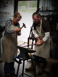Couples Day Date Blacksmithing At Oldfield Forge - best valentine's gifts