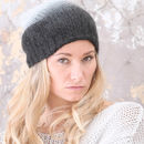 Mohair Digo Ombre Hat In Three Colours