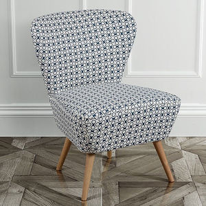 Retro 1950s Patterned Cocktail Chair - what's new