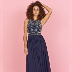 Arista Sequin Maxi Dress - dresses