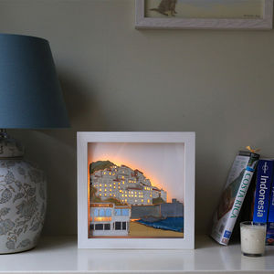 Amalfi Coast Illuminated Picture
