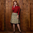 Sylvia Autumn Leaves Skirt