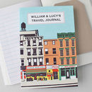 Travel Journal Downtown Personalised