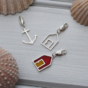 Handmade Silver Nautical Charms
