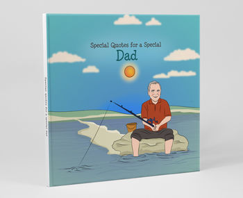 'Special Quotes For Dad' Personalised Book