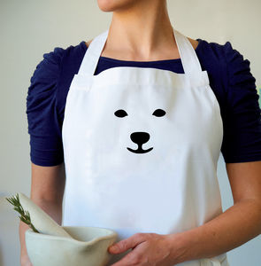 'Snow Bear' Christmas Apron - kitchen accessories