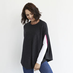 Florence Cashmere Neon Swing Poncho