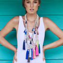 Lupita Long Tassel Necklace