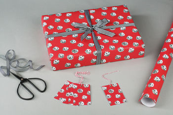 Jingle Bells Christmas Wrapping Paper