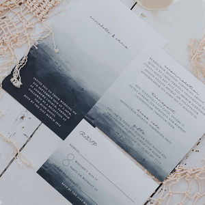 Annabelle Wedding Invitation Set - save the date cards