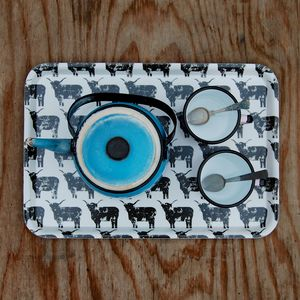Highland Cow Tray - tableware