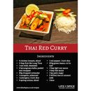 Thai Red Curry Recipe Card