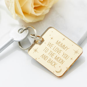 Personalised To The Moon And Back Keyring - view all sale items