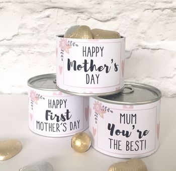 Mother's Day Chocolate Hearts Tin
