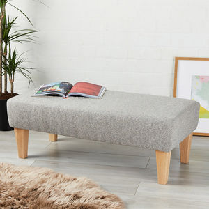 Canterbury Bench Stool - living room