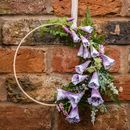 Fox Glove Floral Wreath
