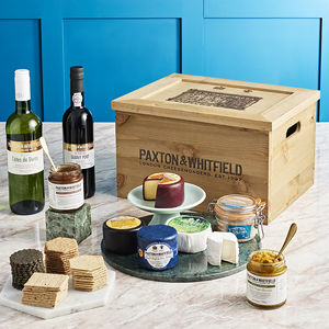 Perfect Cheese And Wine Selection - food gifts