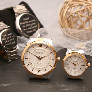 Engraved His And Hers Wrist Watches - watches
